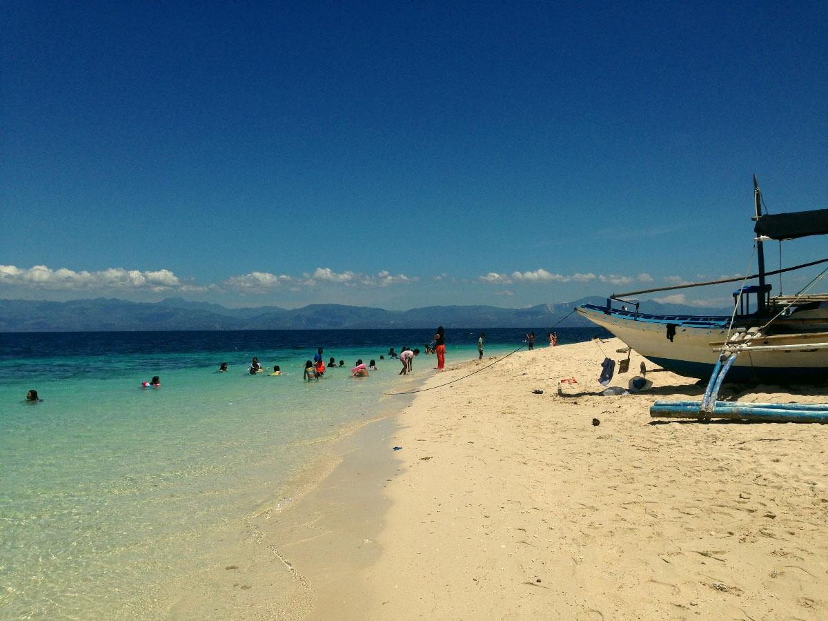 Cebu's selection of white sand beaches