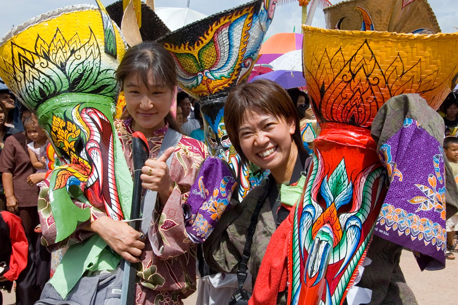 Student backpackers are in for great fun immersing in local festivals. (CONTRIBUTED PHOTO)