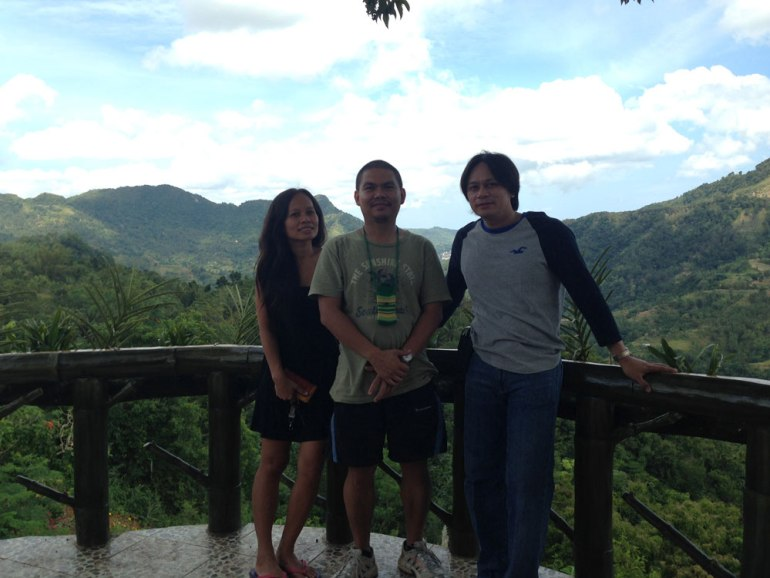 Argao Vice Mayor Stanley Caminero (right), whose family owns Coal Mountain, regularly stays at the resort.