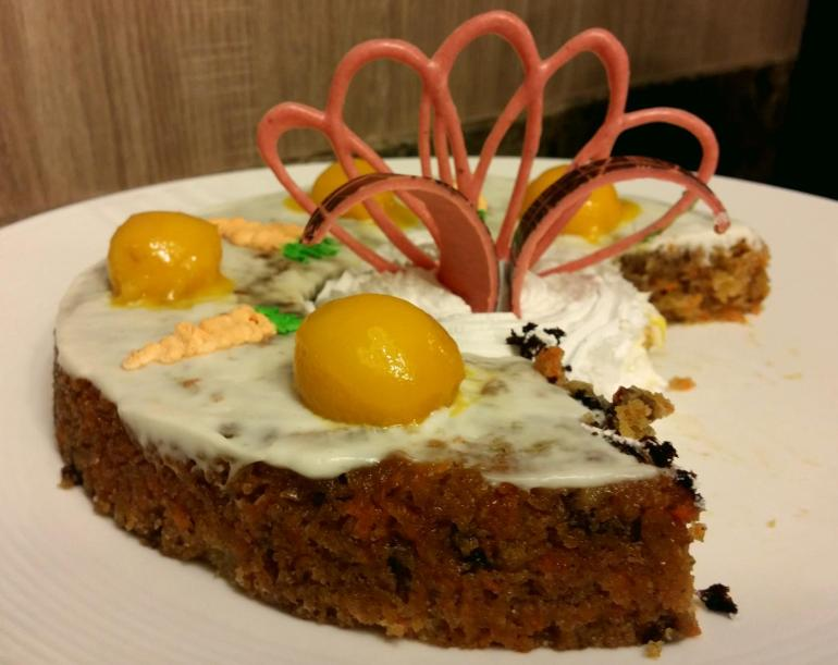 Grand Majestic buffet carrot cake