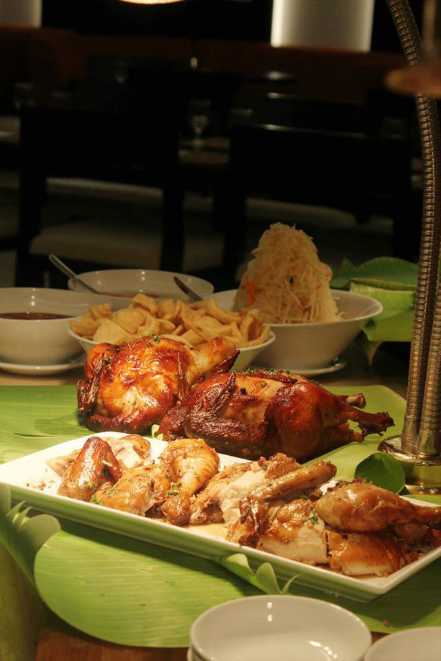 Carving station at Puso Bistro and Bar