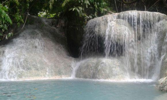 Aguinid Falls in Samboan