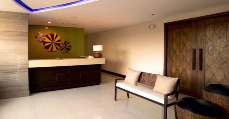 Azia Suites and Residences lobby