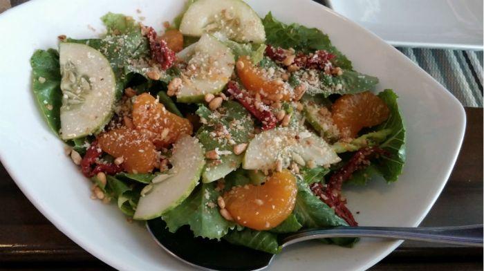Summer Salad dish at Everything Yummy IT Park.