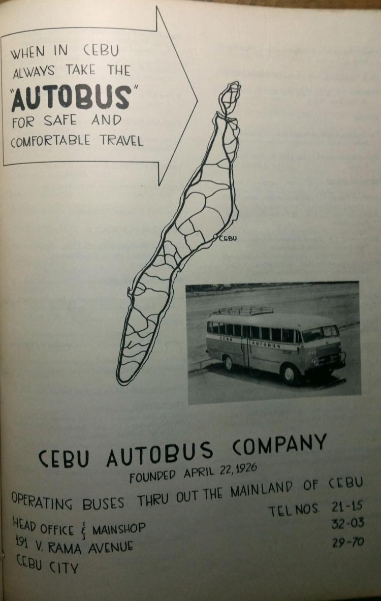 Cebu Autobus Company Ad