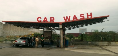 CAR WASH. This car wash makes the place even more convenient for Cafe Racer guests. (Photo by Max Limpag)