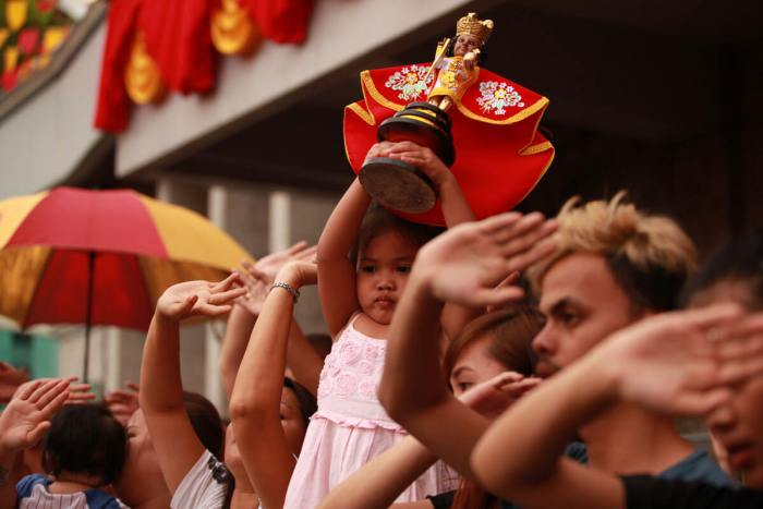 DEVOTION. The Pilgrim Center at the Basilica del Santo Niño is the center of the devotion to the Holy Child. (Photo by Ted Espinueva)