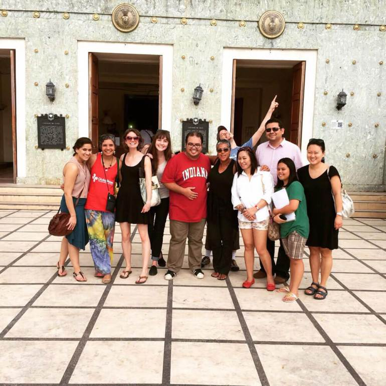 Global Voices organizers at the Cebu Provincial Capitol. (From the Global Voices Storify Feed)