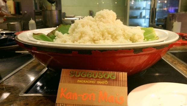 Kan-on mais is a favorite among many Cebuanos.