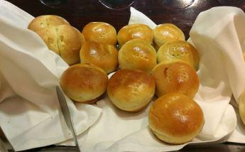 Local bread, including mongo bread