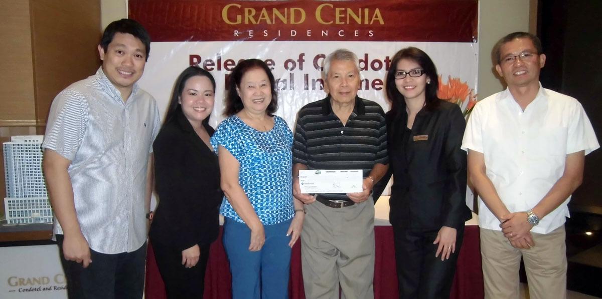 Grand Cenia rental share