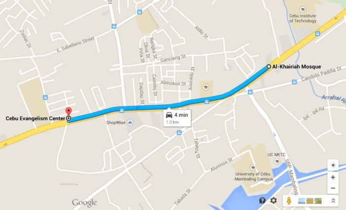 Cebu City underground pass