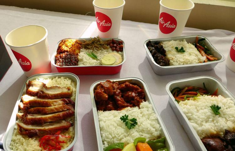 AirAsia hot meals