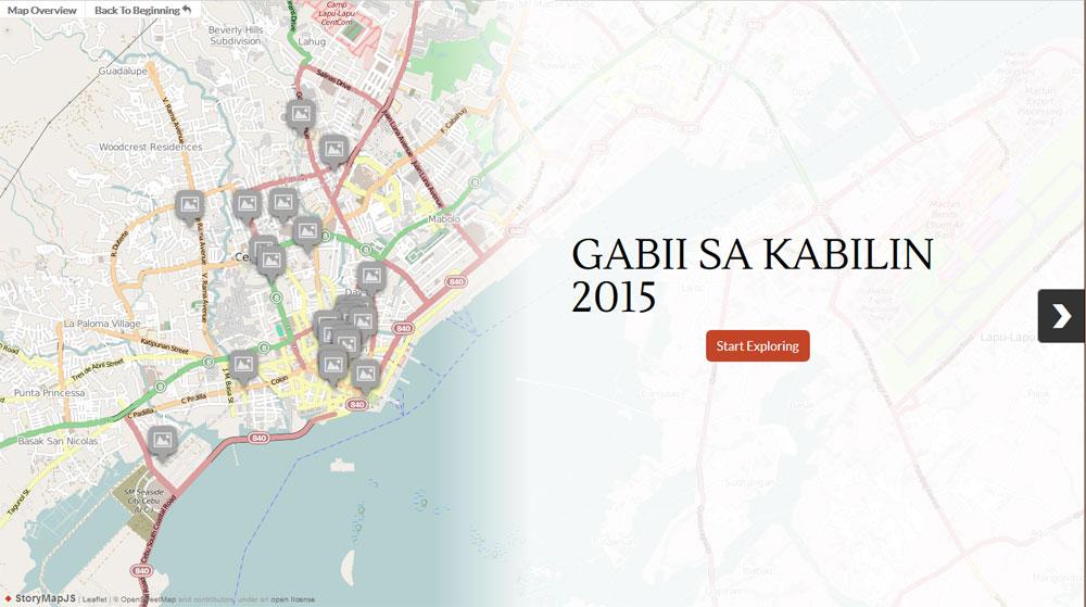 Gabii Sa Kabilin 2015 sites: A walkthrough