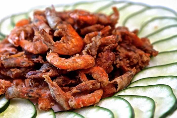 Port drunken shrimp