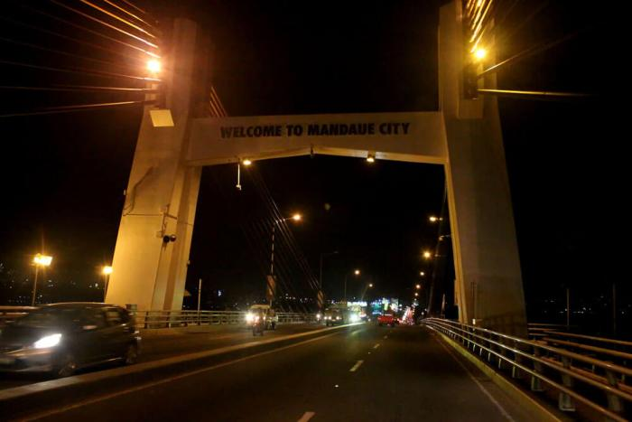 Marcelo Fernan Bridge closure
