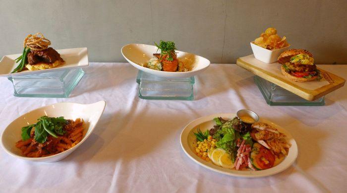 New Brique dishes