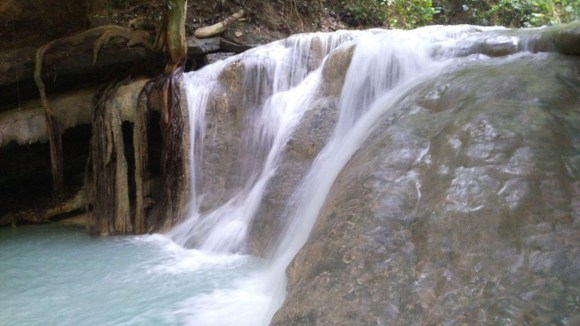 Aguinid Falls in Samboan, Cebu.