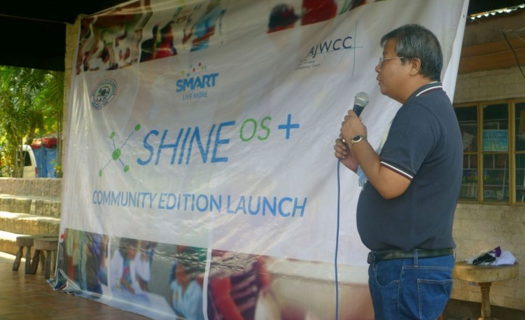 SHINE OS+ launch in Samboan