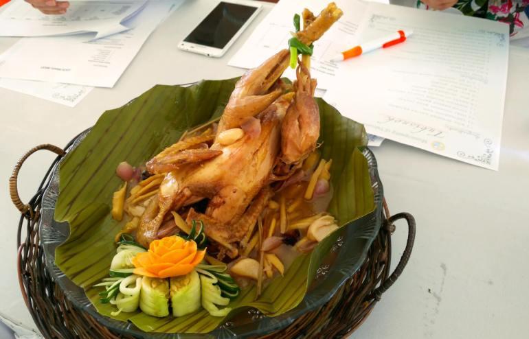 Tubisnok native chicken in tuba