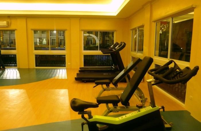 Sanremo fitness room