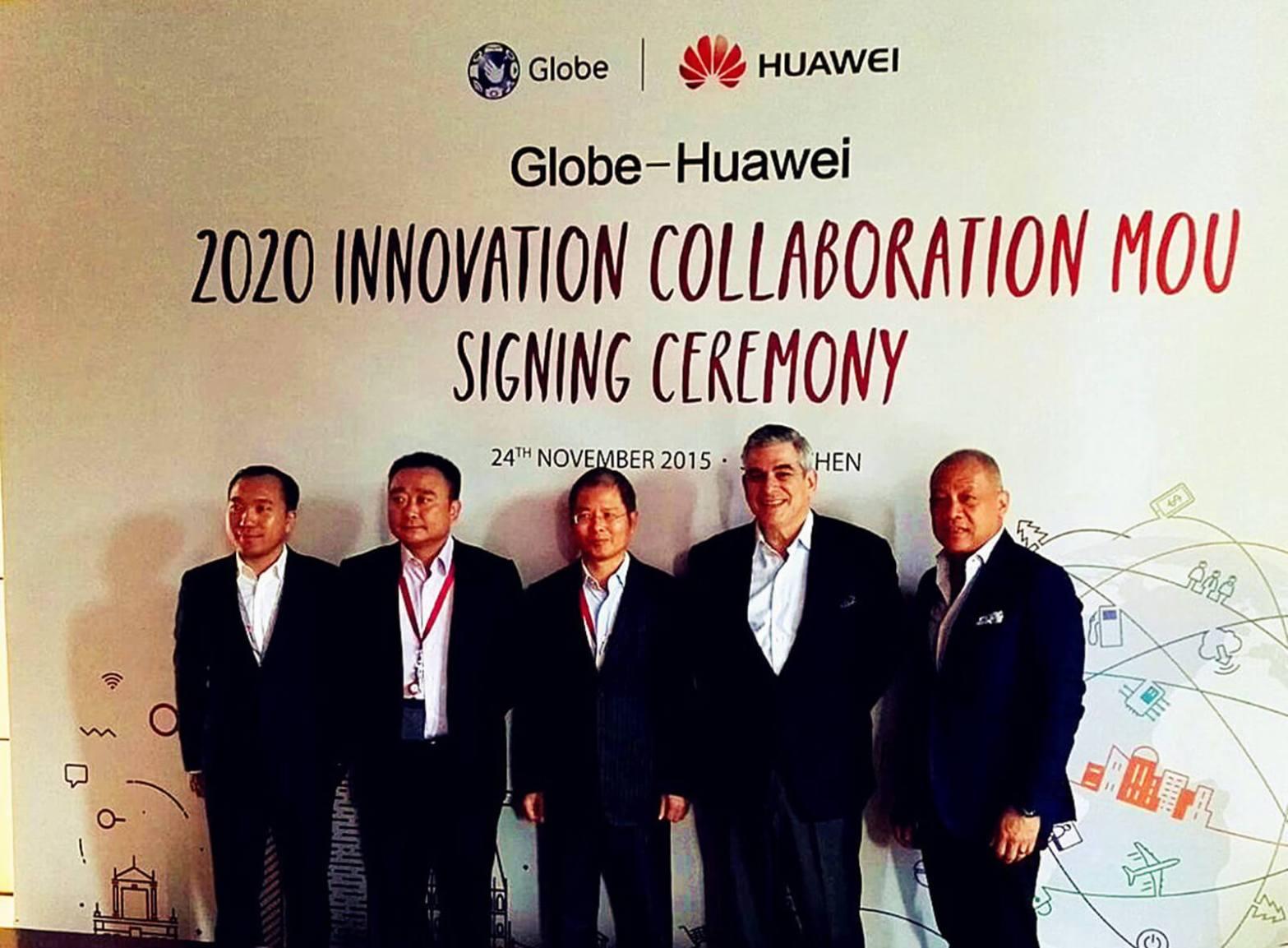 Globe Huawei agreement