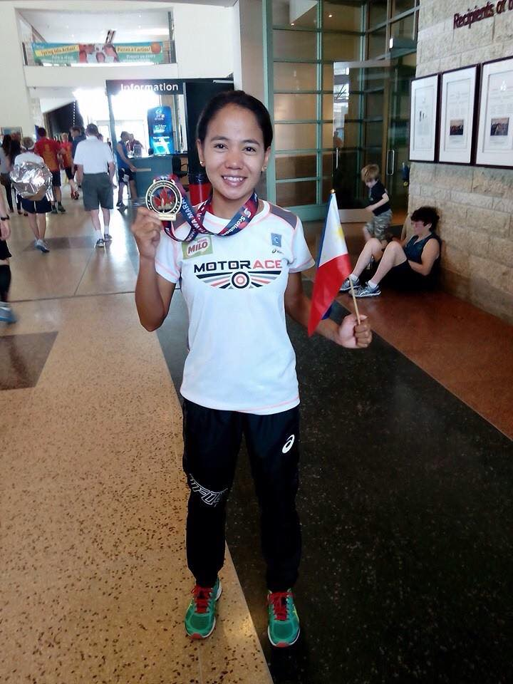 RIO BOUND. After beating the Olympic standard of 2:45, Cebuana Mary Joy Tabal must ask the Philippine Amateur Track and Field Association to be reinstated to the national team.