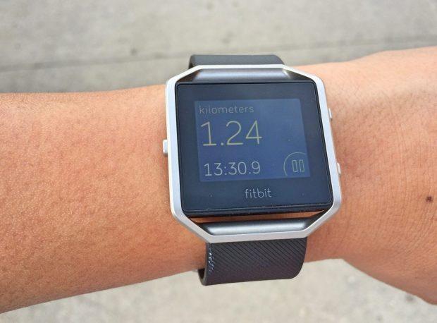 Fitbit Blaze Exercise Data