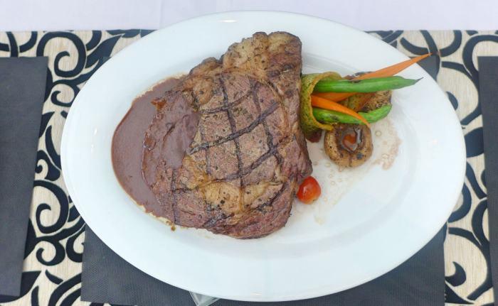The Tinder Box ribeye steak