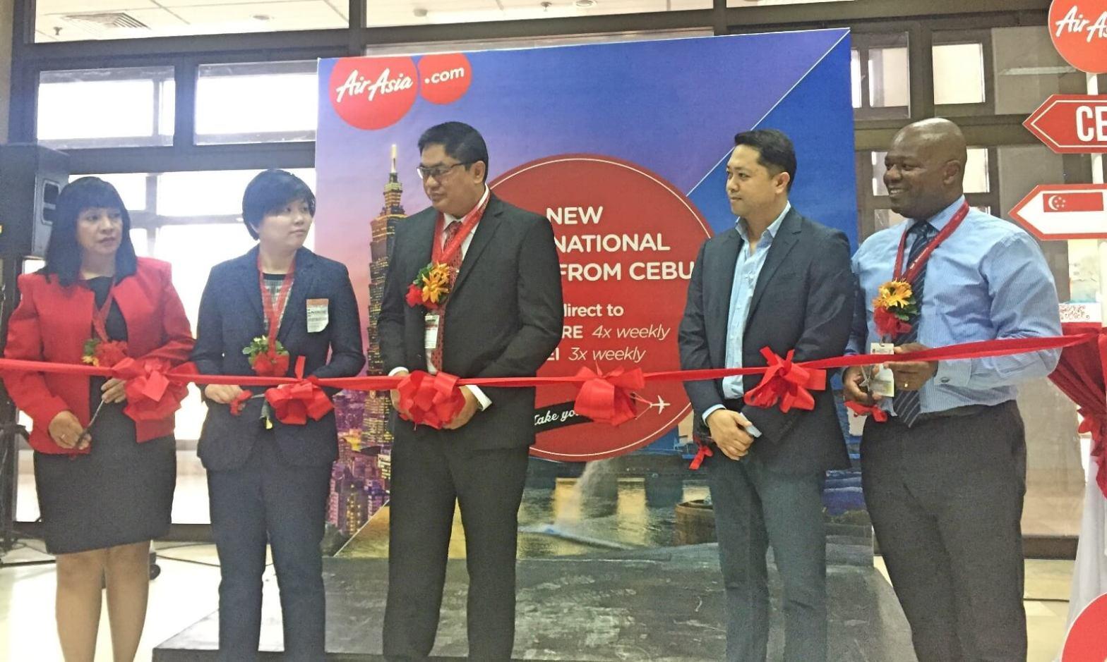 AirAsia Cebu Singapore Taipei