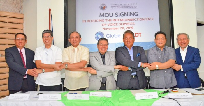 Globe PLDT interconnection