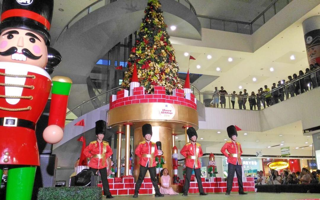 SM City Consolacion lights tree to mark Christmas season