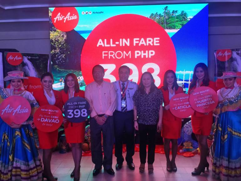 AirAsia new routes launch Cebu