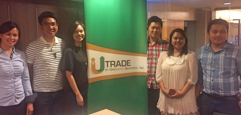 UTrade Cebu press con