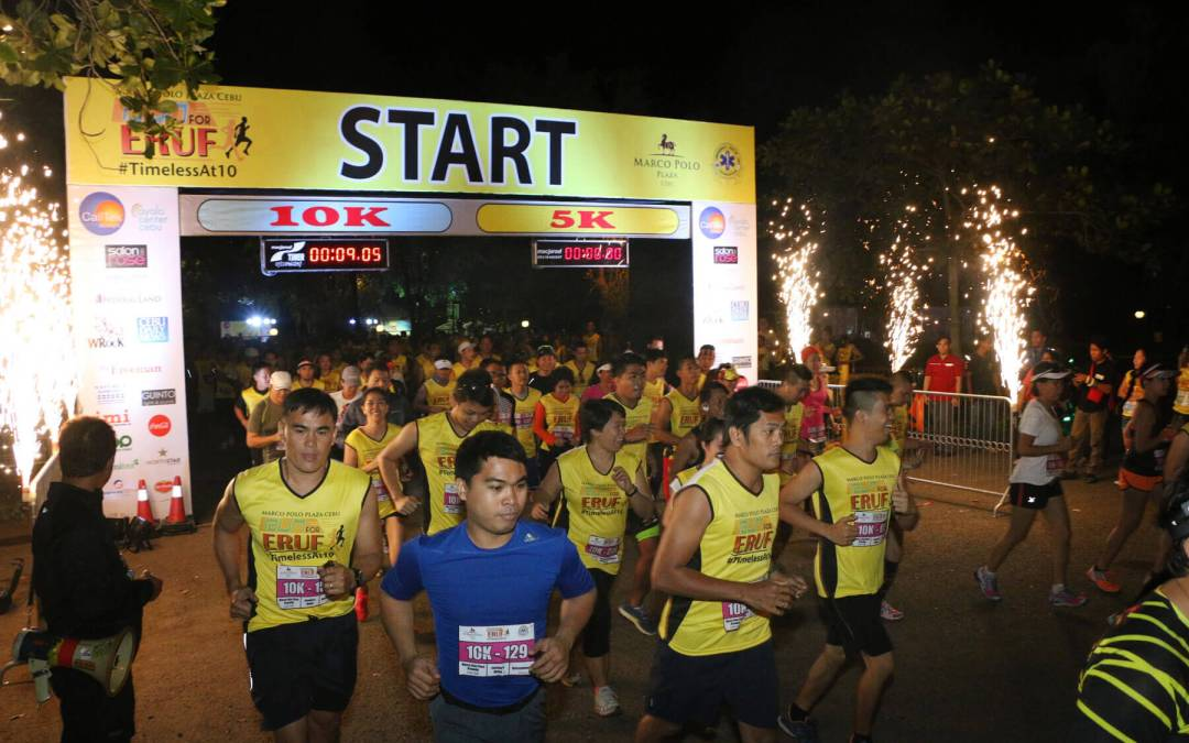 Run to support ERUF by joining Marco Polo Plaza Cebu fun run