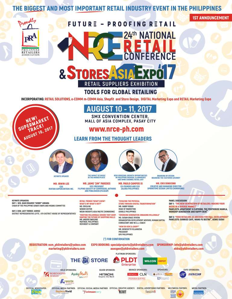 24th National Retail Conference and Stores Asia Expo