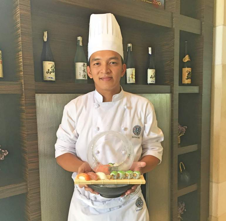 Chef Jeff Yalung Radisson Blu Cebu