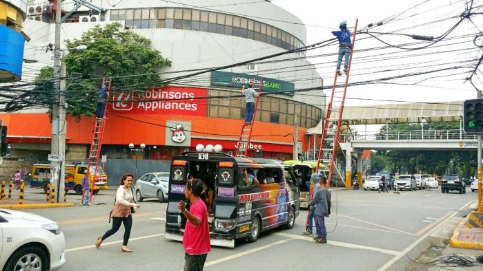 VECO wires cleanup