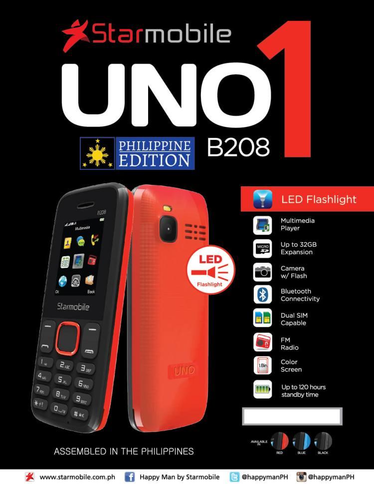 Starmobile UNO B208 PH Edition
