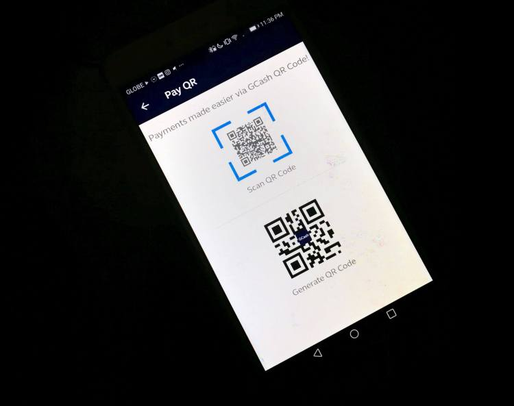 GCash Scan to Pay QR Code