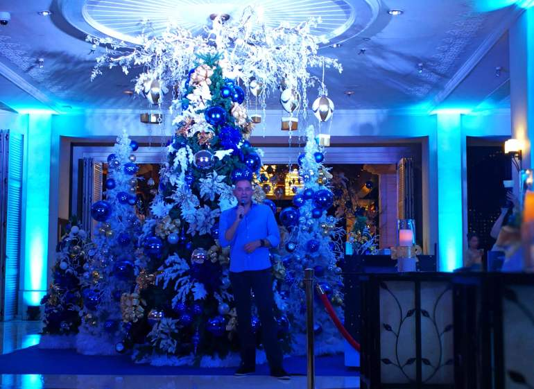 Shangri-La's Mactan Resort & Spa, Cebu tree lighting