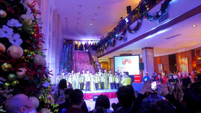 Marco Polo Plaza Tree of Hope