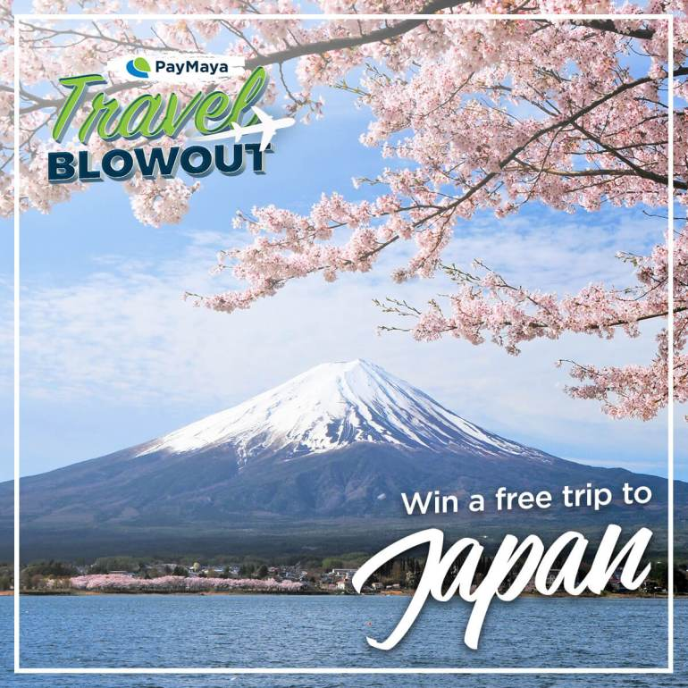PayMaya Travel Blowout Japan