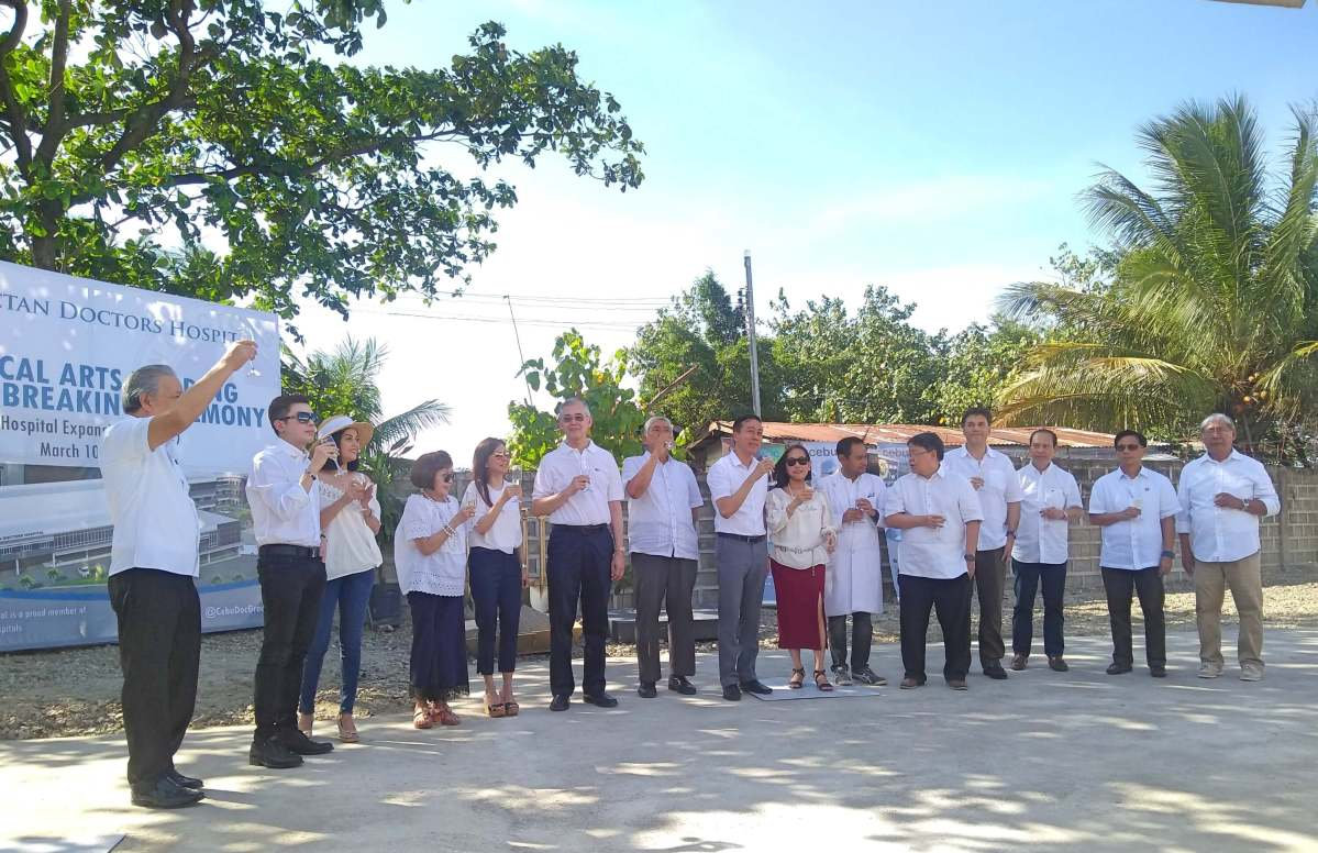 Mactan Doc starts expansion, breaks ground for Medical Arts building