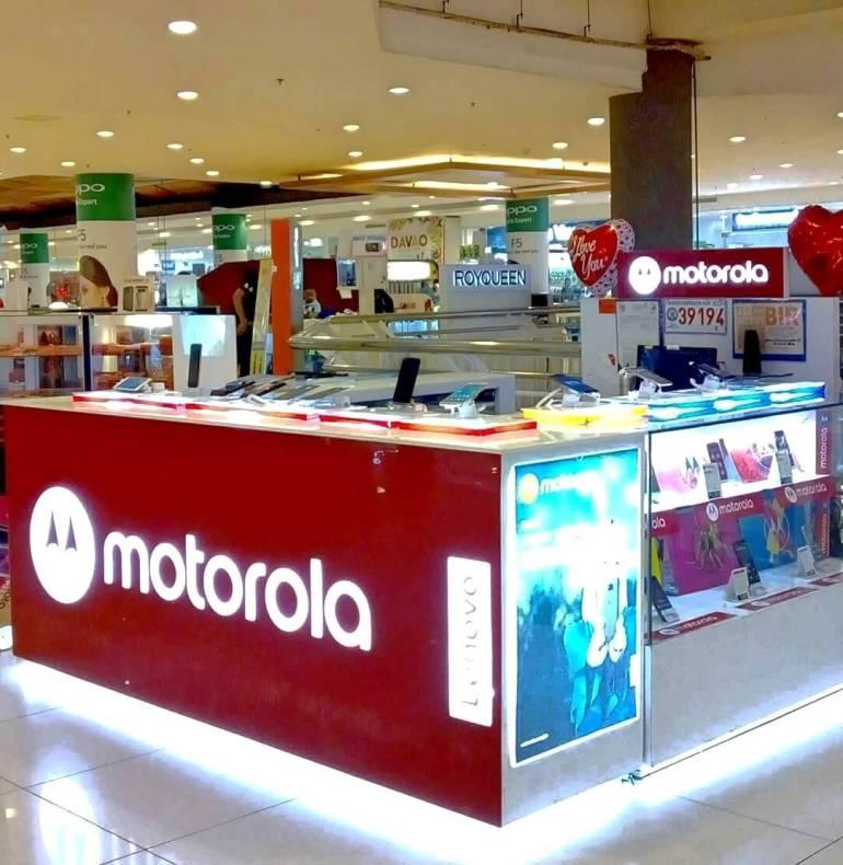 Motorola Gaisano Mall Davao.