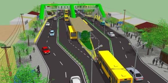 Cebu BRT station