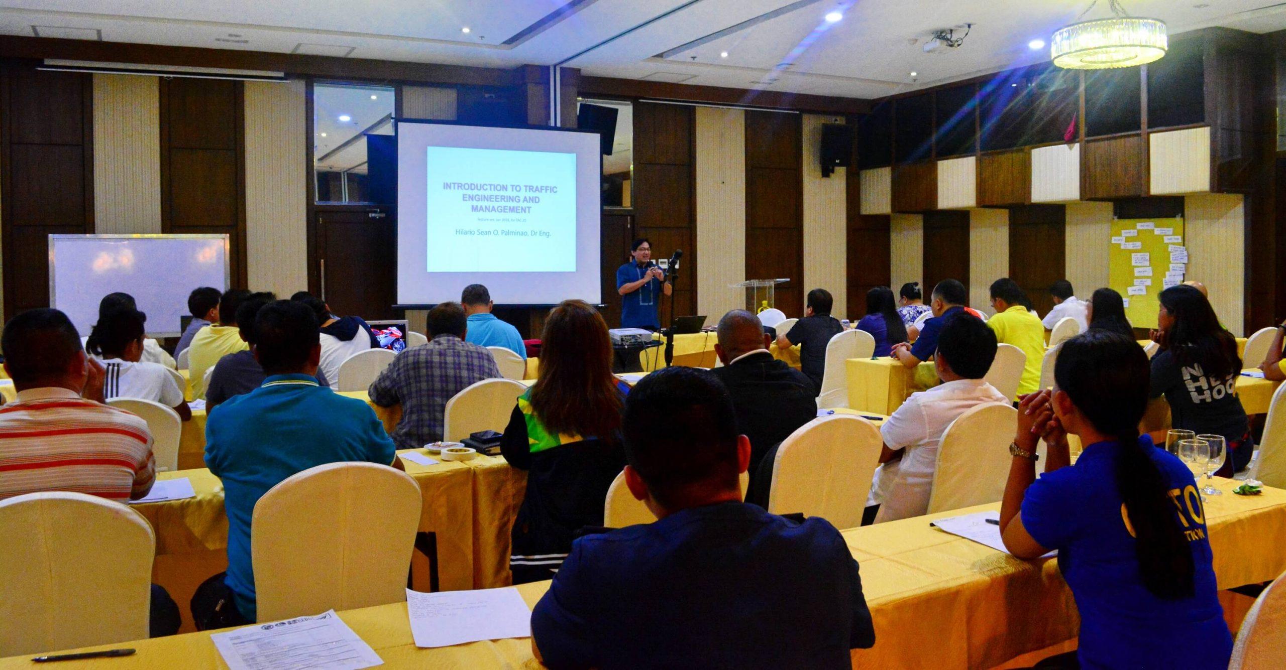 Mega Cebu traffic training