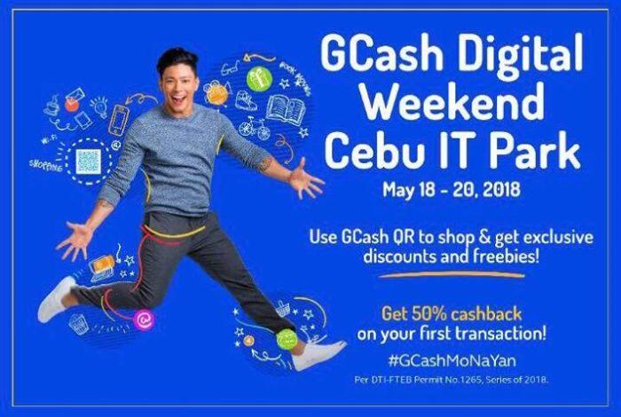 Gcash QR scan to pay Cebu Digital Weekend Cebu IT Park