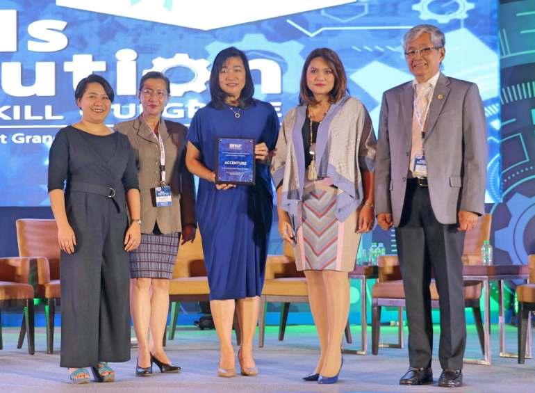 Accenture Talent Development Program award