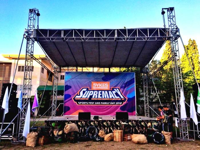 SYKES Philippines sports fest family day